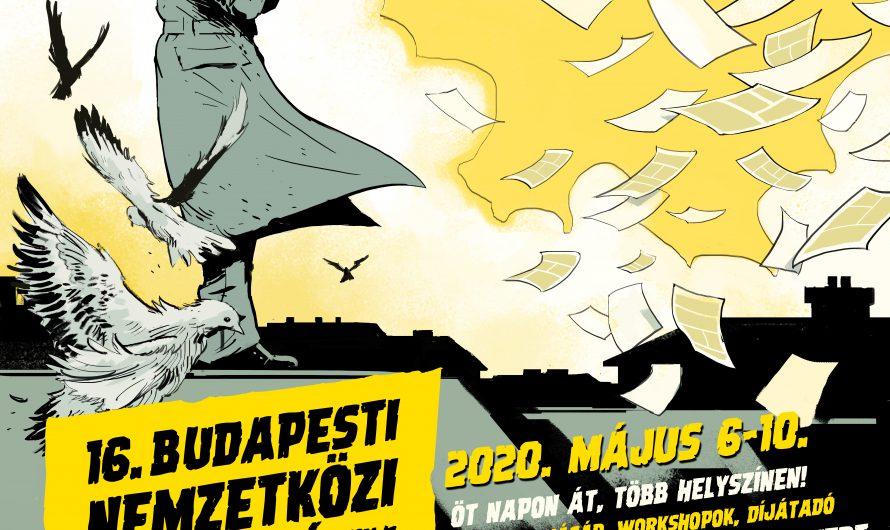 Németh Gyula készítette a 2020-as Képregényfesztivál plakátját