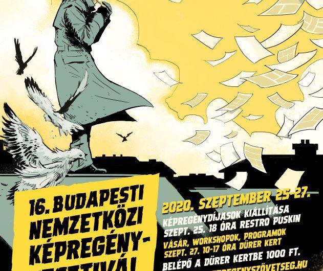 16. Budapesti Nemzetközi Képregényfesztivál: Szeptember 25-27